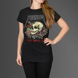 Kanye West - Yeezus Big Skull Tour T-Shirt