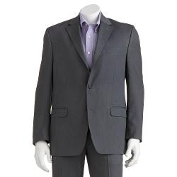 Chaps  - Classic-Fit Herringbone Gray Suit Jacket