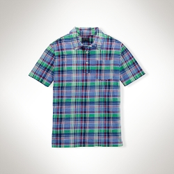 Polo Ralph Lauren - Plaid Cotton Polo Shirt