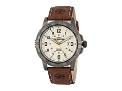 Timex - Expedition Dial Leather Strap Watch