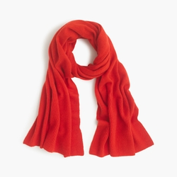 J Crew - Cashmere Ribbed Scarf