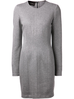 Cédric Charlier   - Seamed Detail Dress