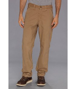 Carhartt - Washed Twill Dungaree Flannel Lined Pants