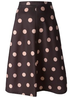 Red Valentino - Polka Dot Skirt
