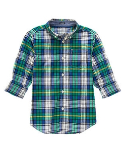 Gymboree - Plaid Shirt