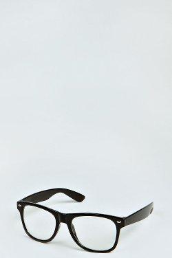 Boohoo - Geek Clear Lens Glasses