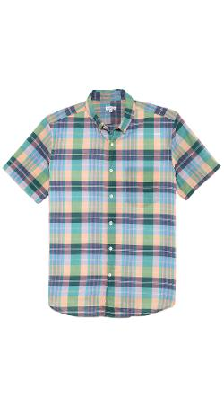 Steven Alan  - Plaid Single Needle Shirt