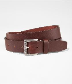Express - LEATHER ROLLER BUCKLE BELT
