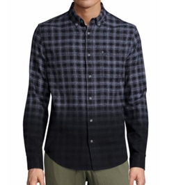 Madison Supply - Ombre Plaid Woven Shirt