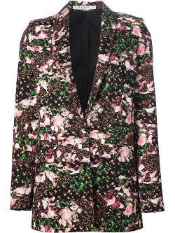 Givenchy  - Floral Print Blazer