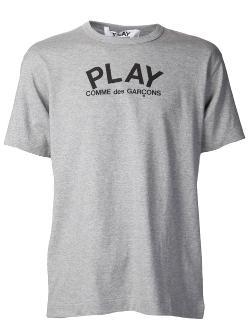 Comme Des Garçons Play  - Brand Graphic T-Shirt