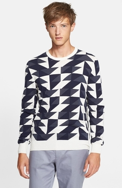 PS Paul Smith - Geo Pattern Cotton Sweater