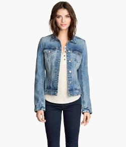 H & M - Washed Denim Jacket