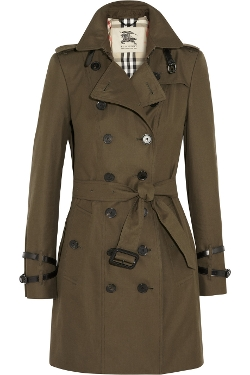 Burberry London - Mid-Length Cotton-Gabardine Trench Coat