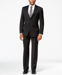 Tommy Hilfiger - Black Athletic-Fit Suit