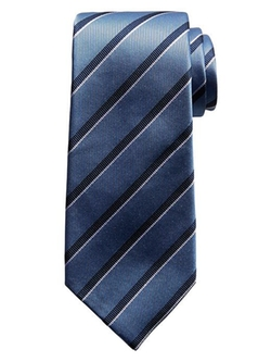 Banana Republic - Two-Color Striped Silk Tie