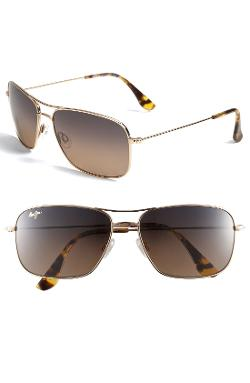 Maui Jim  - Wiki Wiki Polarized Plus Aviator Sunglasses