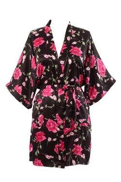 KimonoDeals - Soft Kimono Floral Robe