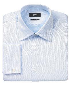 BOSS - Dress Shirt, Solid French Cuff Long Sleeve Shirt