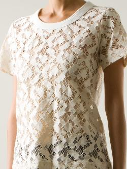 SEA  - floral lace top
