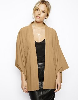 ASOS  - Soft Kimono Jacket with Extreme Sleeves