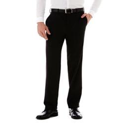 J. Ferrar  - Charcoal Striped Suit Pants