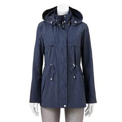 Weathercast  - Hooded Anorak Rain Jacket - Women