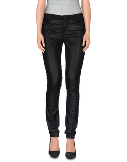 Only  - Leather Denim Pants
