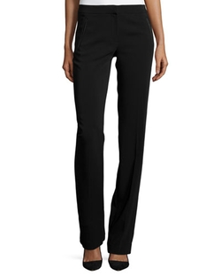 Rebecca Taylor - Slim-Fit Boot-Cut Crepe Pants