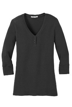 Port Authority -  Scoop Henley Shirt
