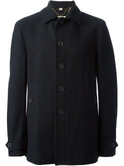 Burberry - Single Breasted Coat