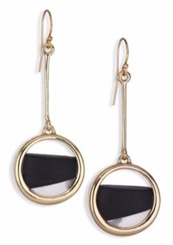 Alexis Bittar  - Lucite Luna Drop Earrings