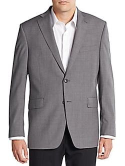 Saks Fifth Avenue - Slim-Fit Two-Button Wool Sportcoat