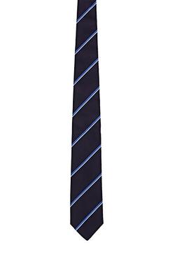 Ralph Lauren Purple Label - Mixed-Stripe Twill Necktie