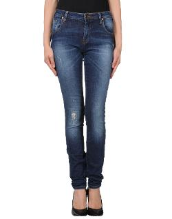 Met  - Torn Denim Pants