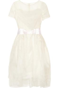 Lanvin - Layered Silk-Organza Dress