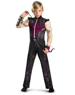 Spirit Halloween - Avengers Hawkeye Muscle Child Costume