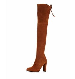 Stuart Weitzman  - Highland Suede Over-the-Knee Boots