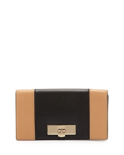 Michael Michael Kors - Callie Two-Tone Clutch Bag