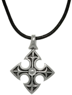Carolina Glamour Collection - Medieval Cross Pendant Necklace