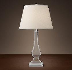Restoration Hardware - Crystal Teardrop Table Lamp