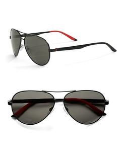 Carrera - Oval Aviator Sunglasses