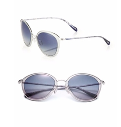 Oliver Peoples  - Gwynne 62MM Round Sunglasses