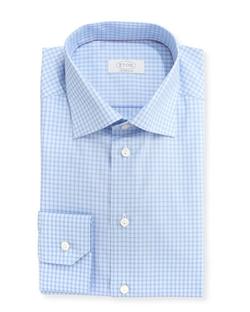 Eton - Contemporary-Fit Check Dress Shirt