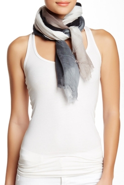 14th & Union - Solid Ombre Oblong Scarf