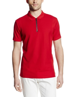 Calvin Klein - Quarter-Zip Polo Shirt