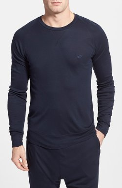 Emporio Armani  - Crewneck Long Sleeve T-Shirt