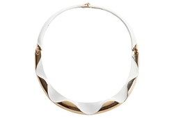 Vintage Daily Style - Monet Wave Enamel Necklace