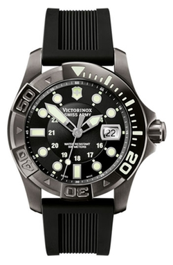 Victorinox Swiss Army - Dive Master Gunmetal Strap Watch