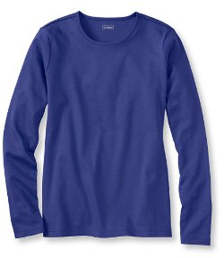 Pima - Long-Sleeve Crewneck